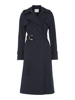 Classic longsleeve trench coat with belt