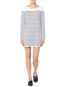 Oui Stripe knite dress