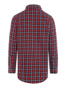 Benetton Boys Long Sleeve Check Shirt