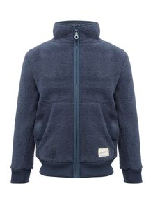 Benetton Boys Zip Up Fleece Jacket