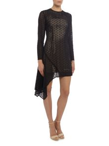 Keepsake Long Sleeve Lace Dress
