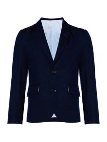 Howick Junior Boys Linen Suit Jacket