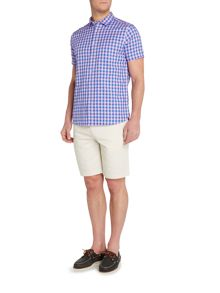 Howick Astor Gingham Short Sleeve Shirt