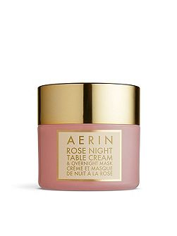 Rose Night Table Cream & Overnight Mask 50ml
