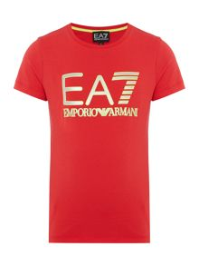 EA7 Junior Boys Logo T-shirt