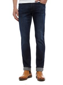 Versace Jeans Slim fit dark wash jeans