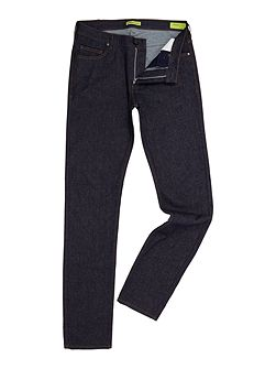 Slim fit clean indigo wash jean
