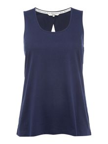 Dickins & Jones Cross back jersey vest