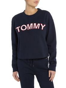 Tommy Hilfiger Athletic logo crew neck sweater
