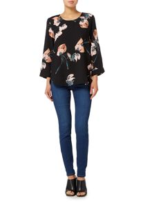 Vero Moda 3/4 length sleeve top