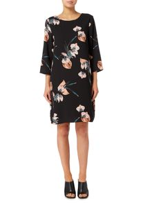 Vero Moda 3/4 length sleeve short dress
