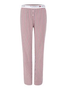 Tommy Hilfiger Lucilue logo woven lounge pant