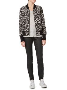 InWear Animal print bomber jacket