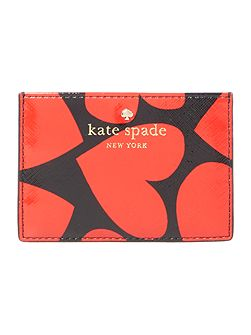 Be Mine Red Heart Card Holder
