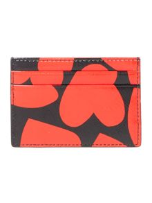 Kate Spade New York Be Mine Red Heart Card Holder
