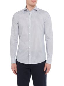 Gant Diamond G Stripe Long-Sleeve Shirt