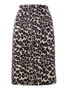 InWear Animal print skirt