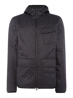 Chest pocket catcher nylon jacket