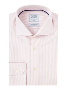 Smyth and Gibson Regular Fit Bengal Stripe Non Iron Shirt