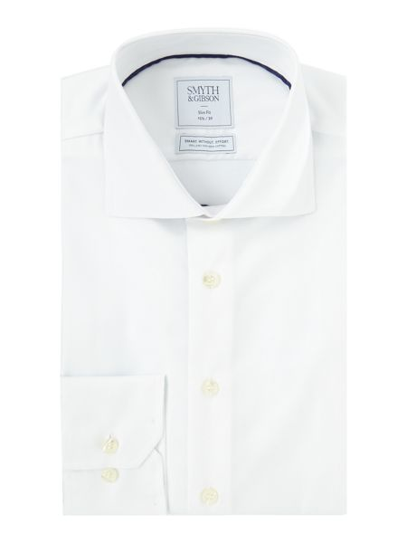 Smyth and Gibson Slim Fit Non Iron Cotton Twill Shirt