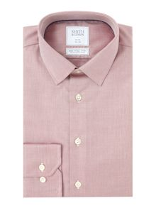 Smyth and Gibson Slim Fit Herringbone Non Iron Shirt