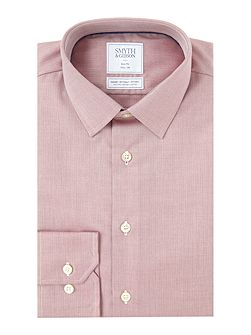 Slim Fit Herringbone Non Iron Shirt