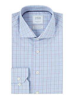 Regular Fit Classic Check Non Iron Shirt