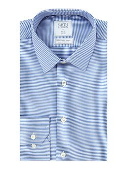 Slim Fit Houndstooth Non Iron Shirt