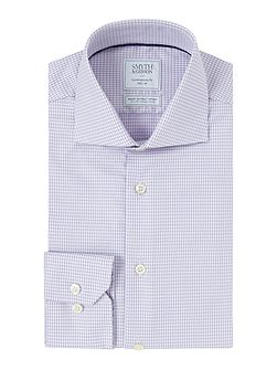 Regular Fit Gingham Non Iron Shirt