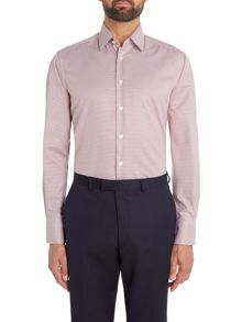 Smyth and Gibson Regular Fit Gingham Non Iron Shirt