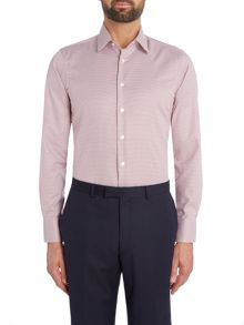 Smyth and Gibson Slim Fit Gingham Non Iron Shirt