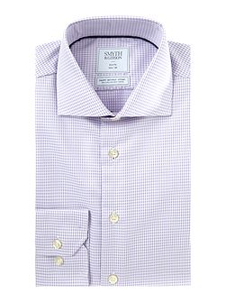 Slim Fit Gingham Non Iron Shirt
