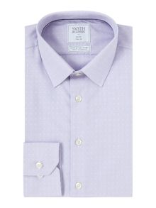 Smyth and Gibson Slim Fit Dobby Poplin Non Iron Shirt