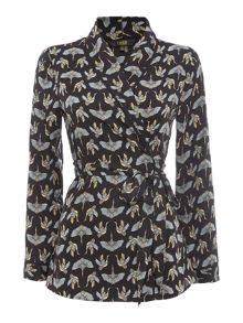 Biba Fan crane wrap PJ top
