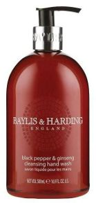 Baylis & Harding Mens Black Pepper & Ginseng 500ml Hand Wash