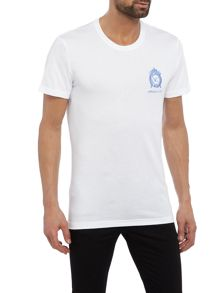Versace Jeans Regular fit embroidered logo t-shirt