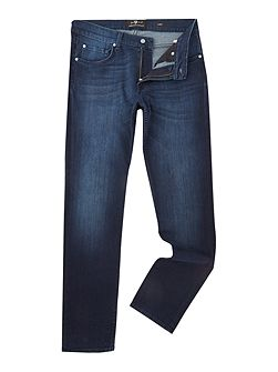 Slimmy Slim Fit Luxe Huntley Mid Wash Jeans