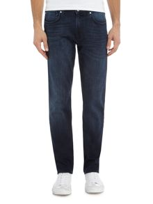 7 For All Mankind Slimmy Slim Fit Luxe Huntley Mid Wash Jeans