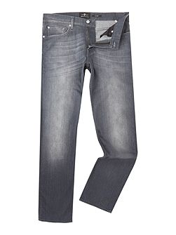 Slimmy Slim Fit Luxe Huntley Mid Grey Jeans
