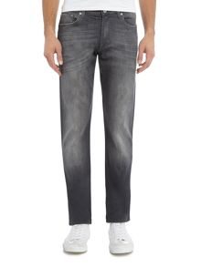 7 For All Mankind Slimmy Slim Fit Luxe Huntley Mid Grey Jeans