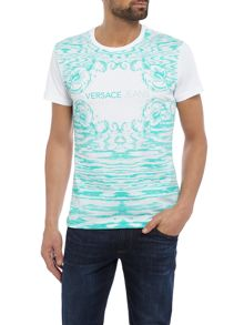 Versace Jeans Slim fit all-over printed t-shirt