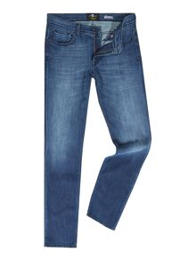 7 For All Mankind Slimmy Foolproof Slim Fit Dark Wash Jeans