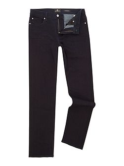 The standard luxe performance plus straight jeans