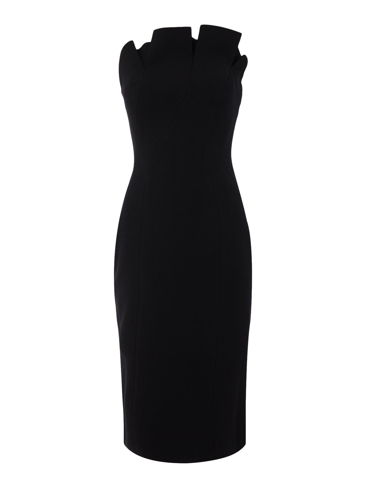 Keepsake Strapless Bodycon Mini Dress, Black