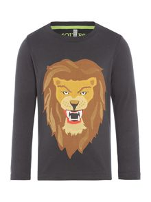 Joules Boys Lion Long Sleeve T-shirt