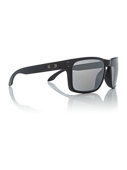 Matte black OO9102 Holbrook square sunglasses