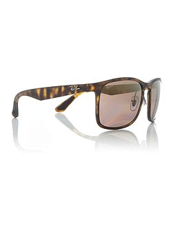 Matte havana RB4264 polarised sunglasses.