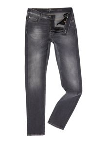 7 For All Mankind Ronnie american moonlight skinny fit grey jeans