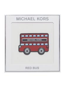 Michael Kors Jet set go red bus sticker