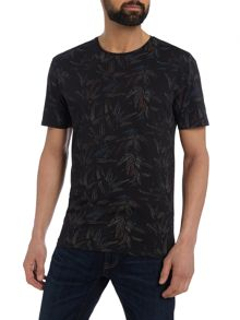Label Lab Rebellion All Over Printed Graphic T-shirt
